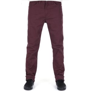 Levi's 508 Burgundy Tapered Jeans